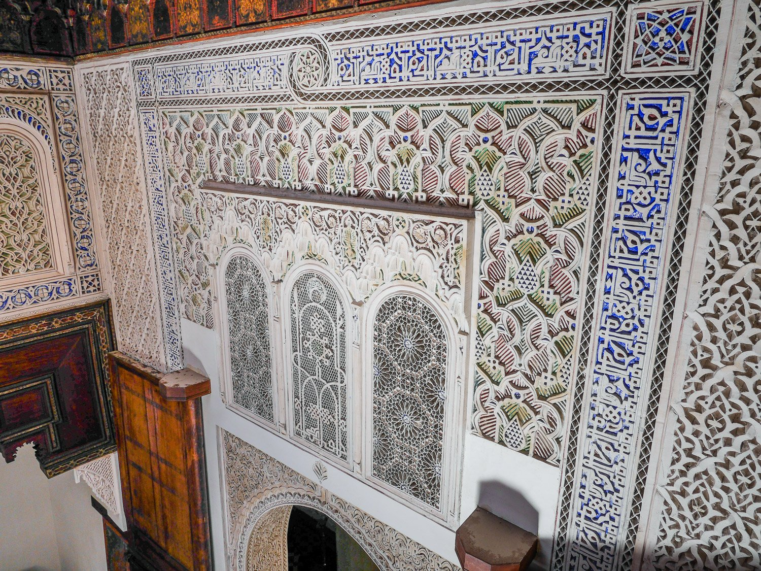 At home in Fez, Morocco