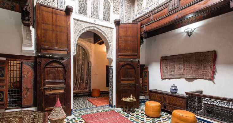 Inspired by Moroccan artisans